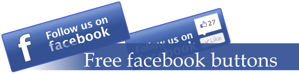 Beautiful Free Facebook Buttons, Free For Personal or
