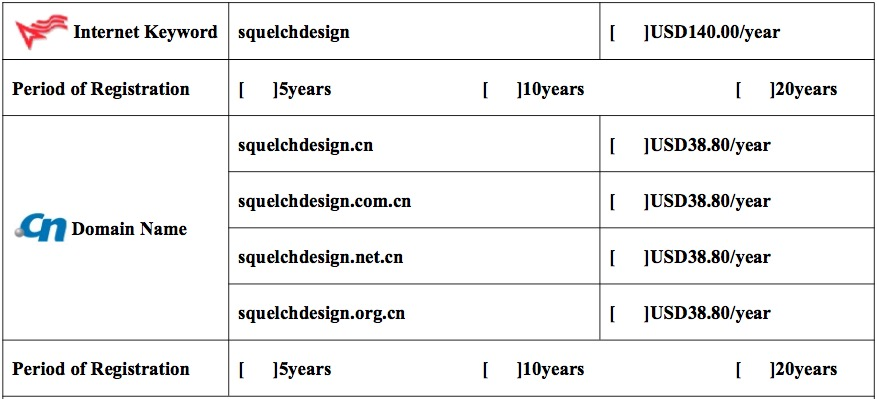 Chinese Domain Name Scam