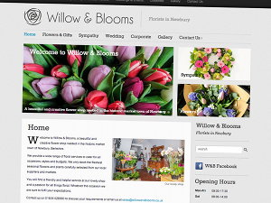 Willow and Blooms Flower Shop in Bartholomew Street, Newbury