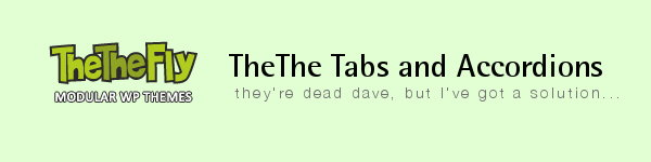 Squelch Web Design Blog: TheThe Fly Tabs and Accordions Replacement