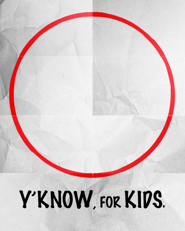 Y'know, for kids! Hudsucker Proxy graphic design